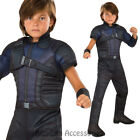 CK672 Hawkeye Civil War Captain America Hero Avengers Fancy Dress Boys Costume