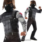 CK673 Winter Soldier lCivil War Captain America Hero Avengers Fancy Boys Costume