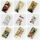 D.Gray-Man Anime Manga iPhone 4s 5 SE 6s 7 Plus Case Soft Silicone TPU Free Ship
