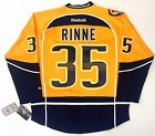 PEKKA RINNE NASHVILLE PREDATORS REEBOK PREMIER HOME JERSEY NEW WITH TAGS