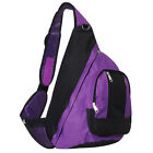 Backpack Shoulder Messenger Sling Chest Hiking Bicycle Bag