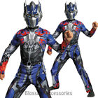 CK684 Optimus Prime Transformers Muscle Super Hero Fancy Boys Kids Child Costume