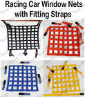 Racing Car safety Window Net Autograss Stock brisca Rally Mini Motorsport Straps