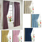 "Woven Dim Out embossed Damask 3"" tape top pencil pleat Curtains *Retain warmth*"