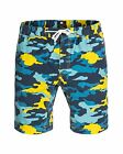 NEW DC Shoes™ Mens Canvas Elastic Print Slim 18 Shorts DCSHOES  Shorts