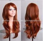 Lolita Women Long Wave Curly Cosplay Anime Synthetic Hair 70cm Wigs S1