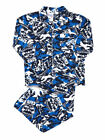 Pyjamas Mens AFL Licensed Flannel 2pc Pjs Geelong Cats Sz S M L XL XXL