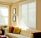 "2"" FAUXWOOD PREMIUM BLINDS 15"" WIDE  by 85"" to 96 "" in LENGTH $36.29 All Sizes"