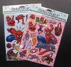 Lot Spider-man Stickers Children Stick Transparent PVC stickers Party Gifts T87
