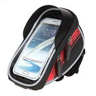 Waterproof Cycling Bag MTB Bike Handbar Package Bag for 4-5.5 inch Mobile Phone