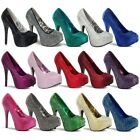 Sexy Heels Womens Shoes Rhinestone Platform Pumps Adult Stilettos