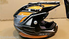 Spada Intrepid Mirage Motorcycle Helmet -black orange Small B42