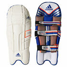adidas SL22 Pro Mens Cricket Batting Pads Leg Guards White/ Blue/ Orange