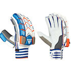 adidas SL22 Pro Junior Cricket Batting Gloves White/ Blue/ Orange