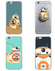 New Robot BB 8 Star Wars TPU Soft Back Phone Case For iPhone 7 5 5s 6 6s Plus $2.54 CAD