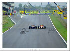 AYRTON SENNA MANSELL SIGNED PHOTO PRINT POSTER NEW F1 FORMULA ONE MONACO PAINT