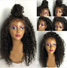 Human hair queen wavy soft Brizilian remy human hair full lace wig be free part