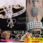 20s Headband Bracelet Ring Set Vintage Bridal Great Gatsby Costume Accessories