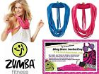 Zumba Fitness ~To Infinity And Beyond Scarf! new 2 COLORs 2 pk ~ TRENDY REDUCED