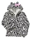 GYMBOREE EVERYDAY DRESS UP ZEBRA SKIN PRINTED HOODED JACKET 4 5 6 7 8 NWT