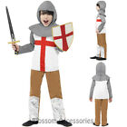 CK743 Horrible Histories Knight Soldier Kids Boys Book Week Fancy Dress Costume
