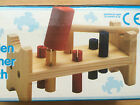 Wooden Stacking Tower & Hammer Bench new toy stacker Hammering kids toddler toys