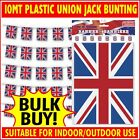 Union Jack Bunting Plastic 10 metres (32.8 FT) Indoor/Outdoor Quality