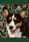 Welsh Corgi (Cardigan, Tri): House Flags and Garden Flags. 3 designs and 2 sizes