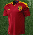 Spain Home Shirt - Official Adidas Football Shirt - Mens - Extra Large