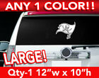 """TAMPA BAY BUCCANEERS FLAG LARGE LOGO DECAL STICKER 12""""w x 10""""h ANY 1 COLOR $14.99 USD on eBay"""