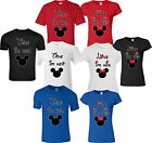designs for t shirt - True Love Minnie & Mickey matching cute designs for newly married Couple T-Shirt