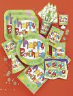 Happy Birthday Party Tableware, Glee Design, Plates, Cups, Napkins, Balloon
