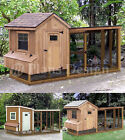 Chicken Coop with Lean-to Kennel, Two in One Combo Project Plans Instructions