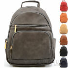 Ladies /Womens Large Faux Leather Travel /Holiday / Weekend Backpack / Rucksack