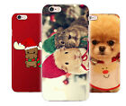 Christmas Cute Animals Spic Dog Guinea Pig Phone Cover Case fits Apple Iphone