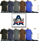 AAA ALSTYLE T-Shirts Plain Cotton Assorted Color Blank TShirts- Sizes: S-5XL Lot