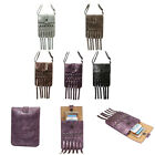 Tassels Women  Mini Bag Wallet Case Cross Body 2 Pocket For Samsung/iPhone