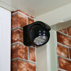 INDOOR OUTDOOR BATTERY SECURITY MOTION PIR SENSOR ROTATE WALL WELCOME LED LIGHT