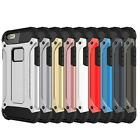 Tough Hard Armour Shockproof Strong Protective Case Cover iPhone 5 6 7 8 X Plus