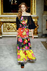 2016 Stunning Black Embroidered Sequin Long Dress with a belt 160612zw01