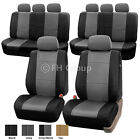 3-Row PU Leather Seat Covers for SUV Air Bag Safe &amp; Split Bench Ready <br/> #1 Best Seller on eBay. Over Thousands Sold Top Quality
