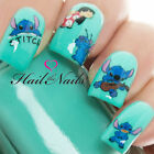 Lilo & Stitch Disney Nail Art Wraps Water Transfers Decals Y827 Salon Quality