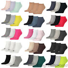 Puma Mens/Womens Sports Socks Invisible Sneakers (3 Pair Pack) UK 2-14