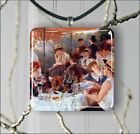 LUNCHEON OF THE BOATING PARTY ART BY RENOIR PENDANTS NECKLACE OR EARRINGS -nji5Z