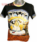 SALVADOR DALI Geopolitical Child Watch Birth New Man FINE ART PRINT T SHIRT *