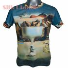 SALVADOR DALI Apparition Face Fruit Dish Beach FINE ART PRINT MENs T SHIRT TOP *