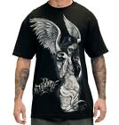 Sullen Art Collective Men's Graphic T-shirt Fallen Angel Black Big Gus