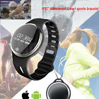 E07 Bluetooth Smart Watch Bracelet Trail Tracker Waterproof GPS for IOS Android