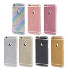 Body Wrap Bling Decal Vinyl Glitter Sticker Skin Cover For iPhone 5S 6S Plus