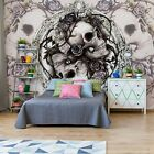 WALL MURAL PHOTO WALLPAPER XXL Skull Alchemy Roses (977WS)